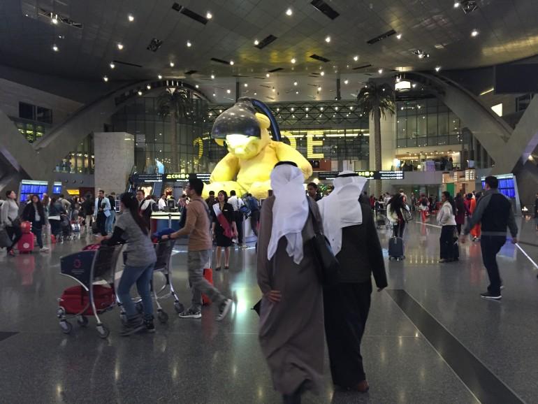 Aeroporto Hamad : Come sopravvivere ad uno scalo a doha guardo il mondo da