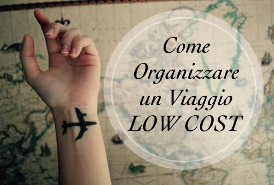 Organizzare un viaggio Low Cost