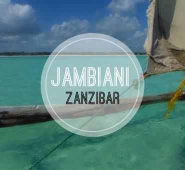 Jambiani, un angolo di paradiso
