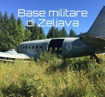 La base militare di Zeljava, nel confine Croato-Bosniaco