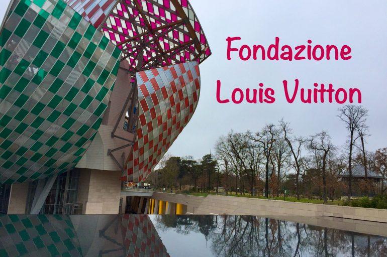 Un veliero tra i giardini di Parigi: Fondazione Louis Vuitton