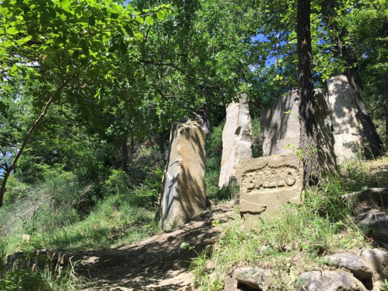 il percorso delle sette pietre