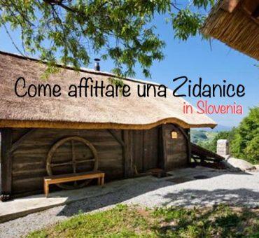 Posti strani dove dormire: in una Zidanice, in Slovenia