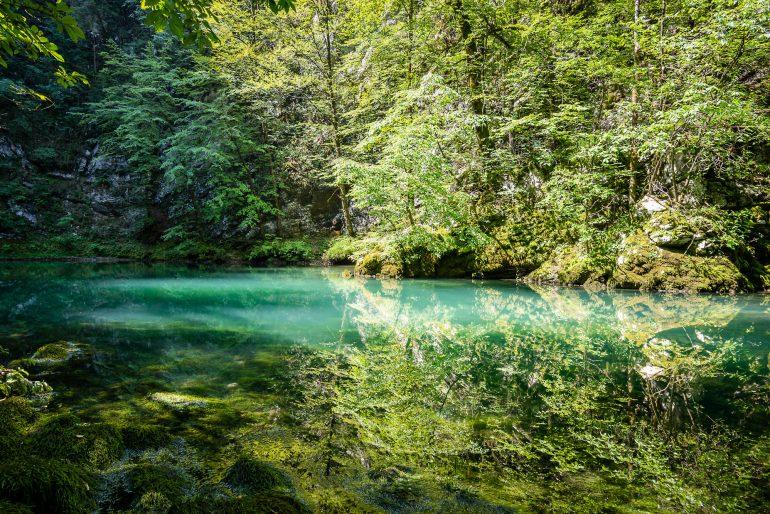 Idrija divje jezero