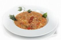 minestrone d'orzo - cucina slovena