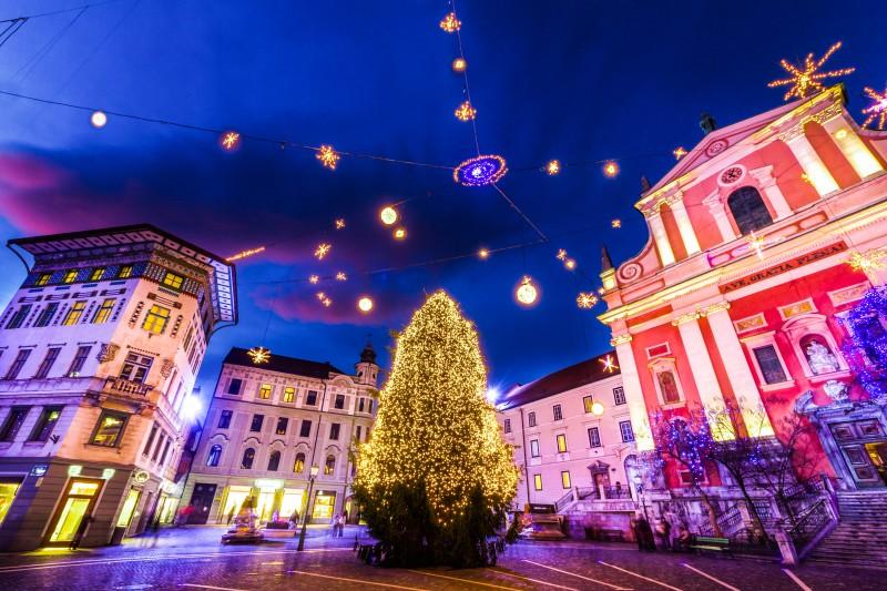 Capodanno in Slovenia (Lubiana – Kranj – Skofia Loka)