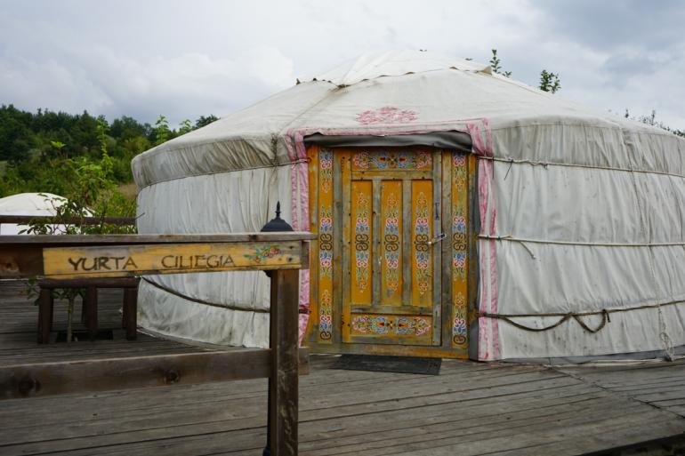 Dormire in una yurta Ca' Cigolara - Borgo val di Taro