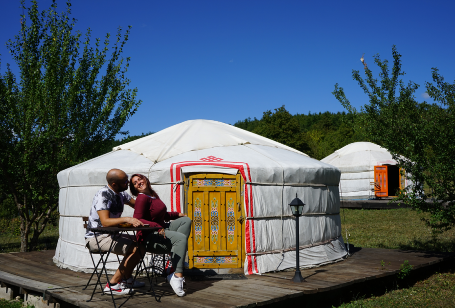 Dormire in una yurta: Campeggio Ca'Cigolara