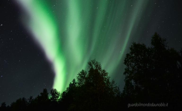 Lapponia in autunno - Aurora Boreale
