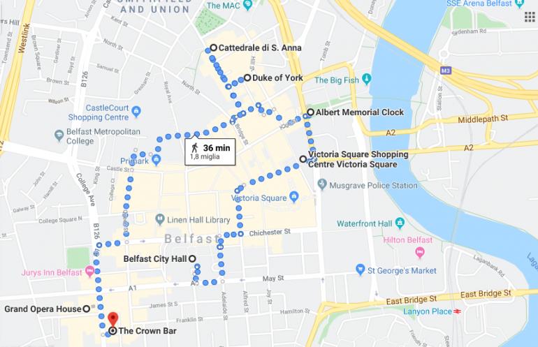 Itinerario Belfast 1
