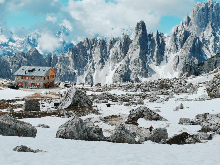 Dolomiti in Camper, Tre cime di Lavaredo