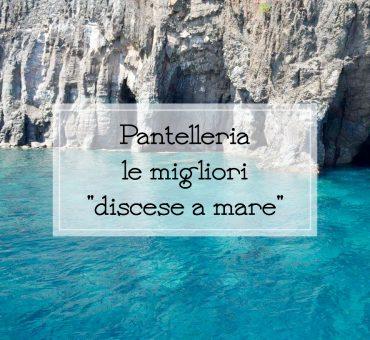 Pantelleria a mare e da amare