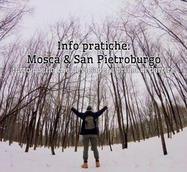 Come organizzare un viaggio in Russia, tra Mosca e San Pietroburgo